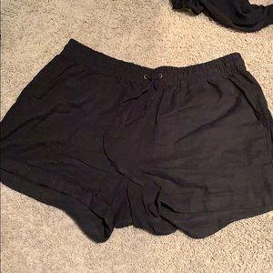 Forever21+ black shorts